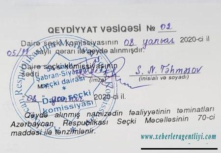 Elza Seyidcahanın deputatlığa namizədliyi qeydə alındı - Fotolar