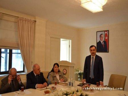 Nahid Bağırov ağsaqqallarla görüşüb-FOTOLAR