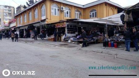 """""""Vosmoy bazarı"""" bağlanır - ÖZƏL/FOTO"""