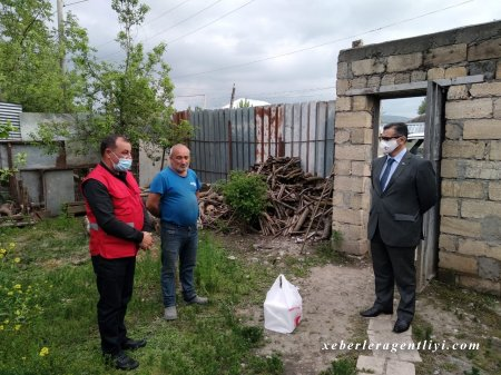Millət Vəkili Novruz Aslan İsmayıllıda humanitar aksiya keçirdi.