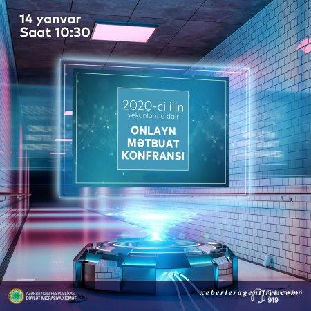 Dövlət Miqrasiya Xidmətinin rəisi Vüsal Hüseynovun 2020-ci ilin yekunlarına dair onlayn mətbuat konfransı keçirilicək