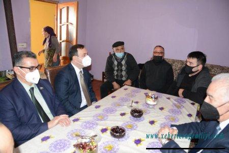 İsmayıllıda Vətən müharibəsinin qəhrəmanları ilə növbəti görüş keçirilib